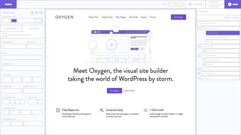 Oxygen v3.8.1 Nulled – The Ultimate Visual Site Builder