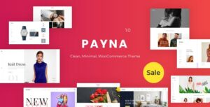 Payna v1.1.4 Nulled – Clean, Minimal WooCommerce Theme