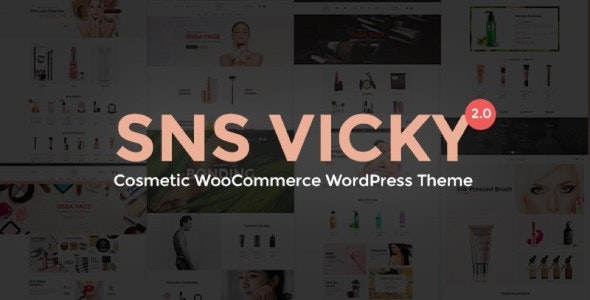 SNS Vicky v3.2 Nulled – Cosmetic WooCommerce WordPress Theme