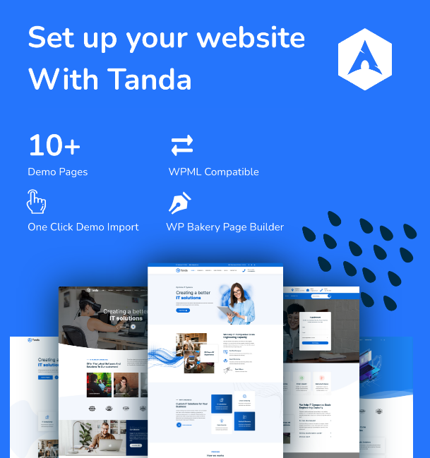 Tanda v1.3 Nulled– Technology & IT Solutions WordPress Theme