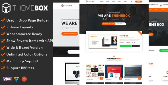 Themebox v1.3.4 Nulled – Unique Digital Products Ecommerce WordPress Theme
