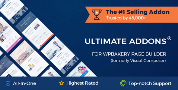 Ultimate Addons for WPBakery Page Builder v3.19.10 Nulled