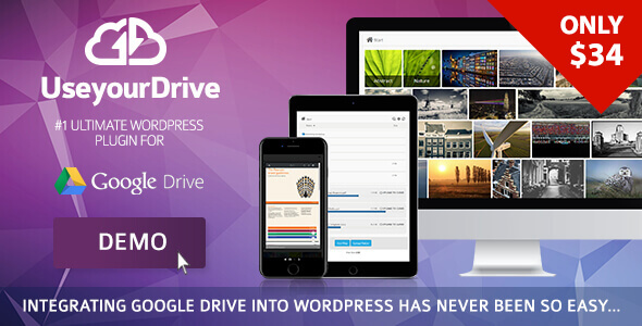 Use-your-Drive v1.19 Nulled (Google Drive plugin for WordPress)