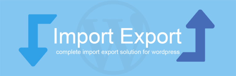WP Import Export v3.9.12 Nulled