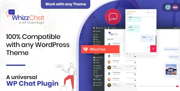WhizzChat v1.3 Nulled – A Universal WordPress Chat Plugin