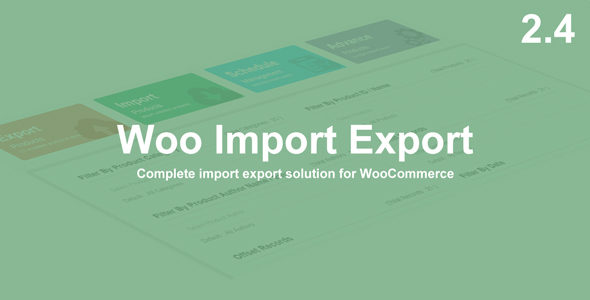 Woo Import Export v5.7.0 Nulled
