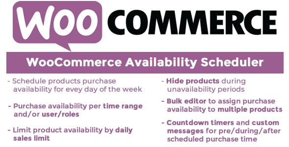 WooCommerce Availability Scheduler v11.4 Nulled