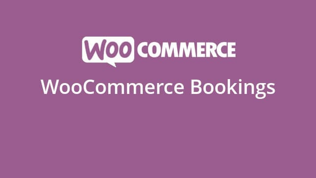 WooCommerce Bookings v1.15.41 Nulled