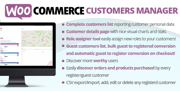 WooCommerce Customers Manager v27.1 Nulled