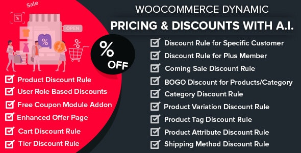 WooCommerce Dynamic Pricing & Discounts with AI v1.7.1 Nulled
