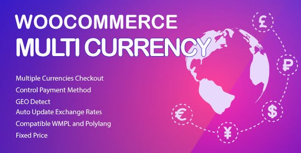WooCommerce Multi Currency v2.1.20 Nulled (Currency Switcher)