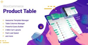 WooCommerce Product Table v2.4.1 Nulled