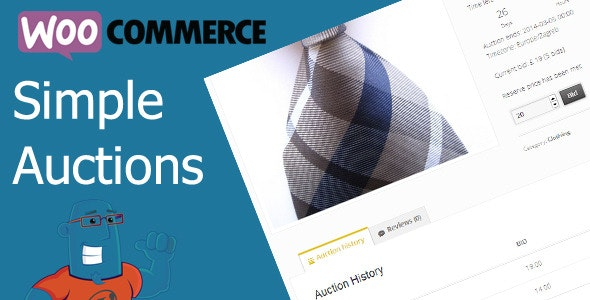 WooCommerce Simple Auctions v2.0.4 Nulled
