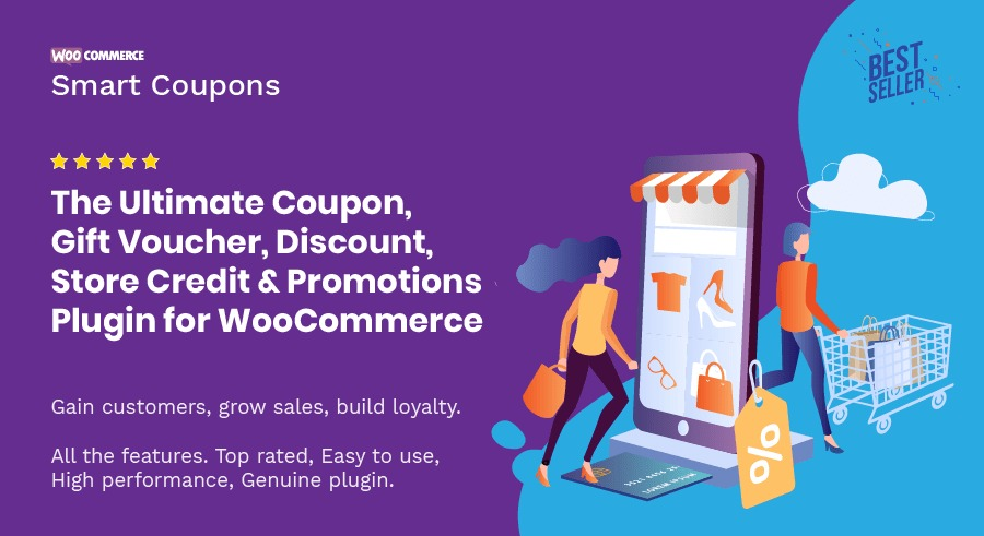 WooCommerce Smart Coupons v4.22.0 Nulled
