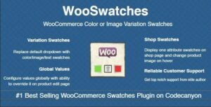 WooSwatches v3.3.7 Nulled – Woocommerce Color or Image Variation Swatches