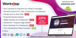 Workreap v2.1.9 Nulled – Freelance Marketplace and Directory WordPress Theme