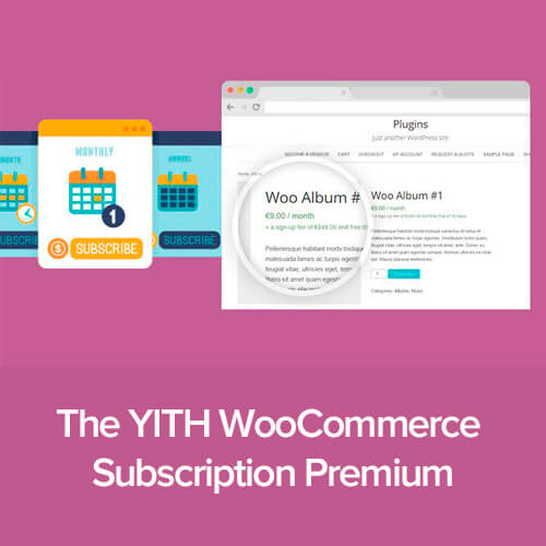 YITH WooCommerce Subscription Premium v2.3.1 Nulled