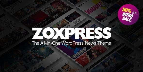 ZoxPress Theme v2.07.1 Nulled