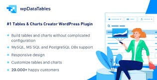wpDataTables v3.7 Nulled (Tables and Charts Manager for WordPress)