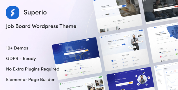 Superio Theme v1.1.12 Nulled