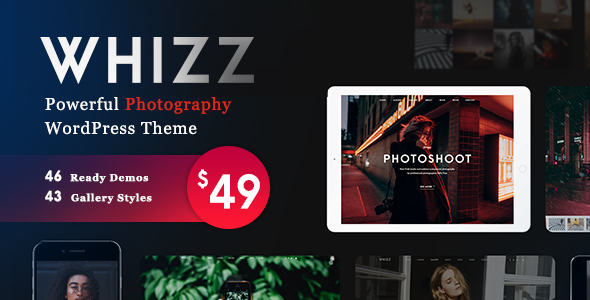 Photography Whizz v2.2.8 Nulled (Photography WordPress for Photography)