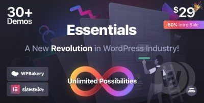 Essentials Theme v2.0.8 Nulled