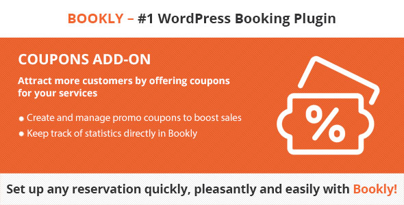 Bookly Coupons v3.4 Nulled (Add-on)