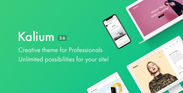 Kalium v3.4.3 Nulled (Creative Template for WordPress)