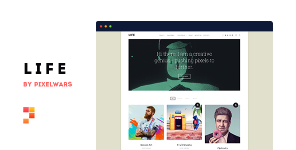 Life Theme v1.1.8 Nulled