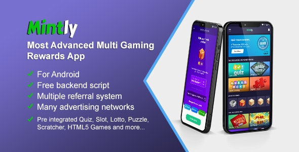 Mintly v1.47 Nulled (Advanced Multi Gaming Rewards App)