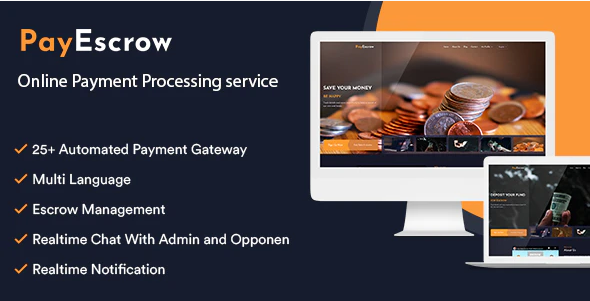 PayEscrow v2.1 Nulled (online payment processing service)