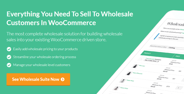 WooCommerce Wholesale Prices Premium v1.26.6 Nulled