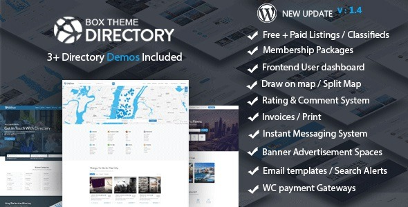 Directory Theme v1.9 Nulled
