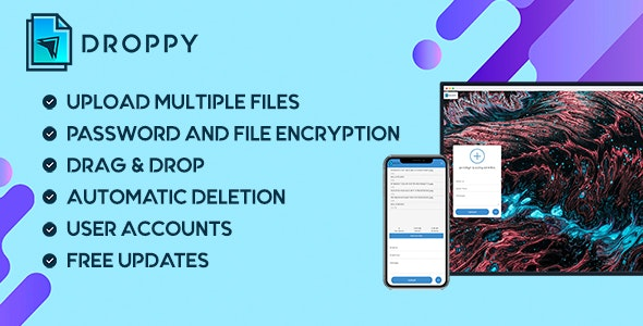 Droppy v2.3.6 Nulled (Online File Transfer and Sharing)