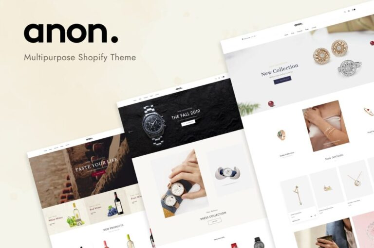Anon Theme v1.0.2 Nulled