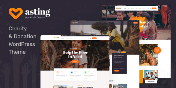 Asting Theme v1.0.5 Nulled