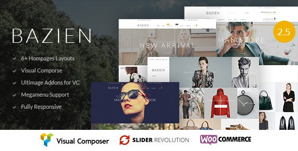 Bazien Theme v4.0.6 Nulled