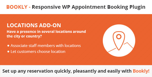 Bookly Locations (Add-on) v4.5 Nulled