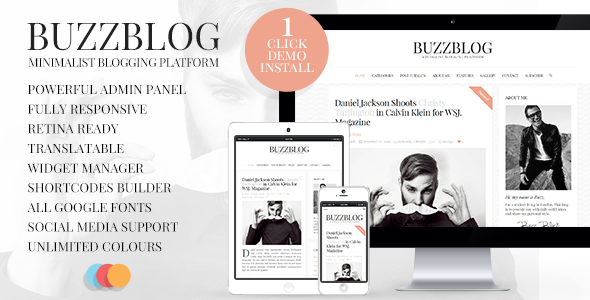 Buzz Theme v5.1.1 Nulled