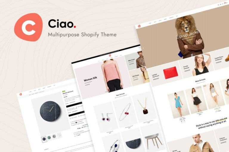 Ciao Theme v1.2.1 Nulled