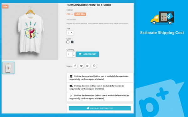 Estimate Shipping Cost v4.0.5 Nulled