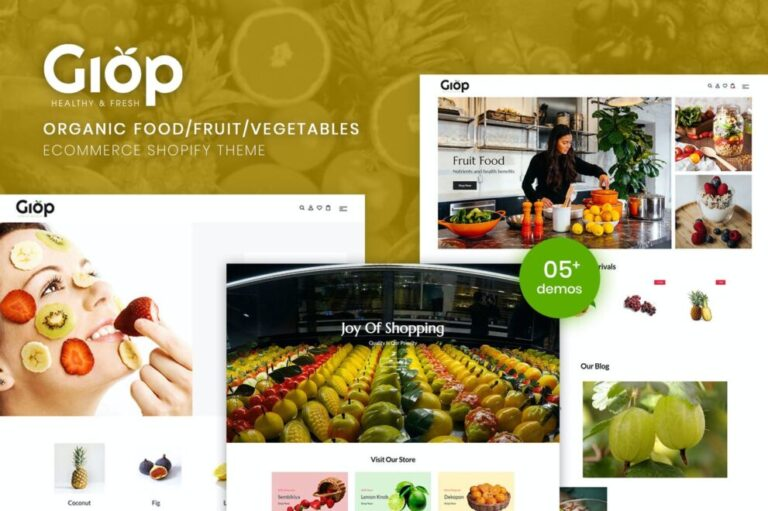 Giop Theme v1.0.1 Nulled