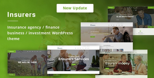 Insurers Theme v3.1.2 Nulled