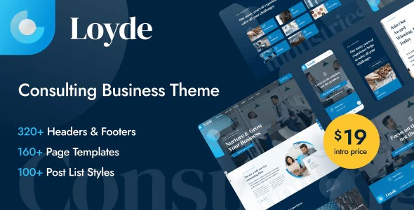 Loyde Theme v1.0.2 Nulled