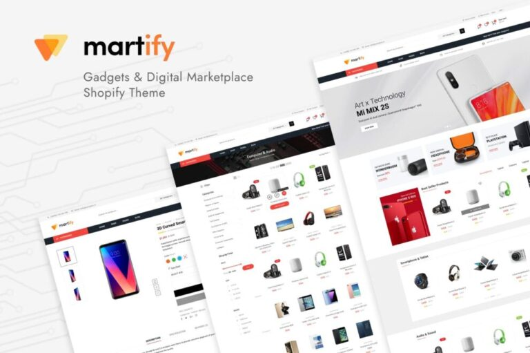 Martify Theme v2.0.1 Nulled