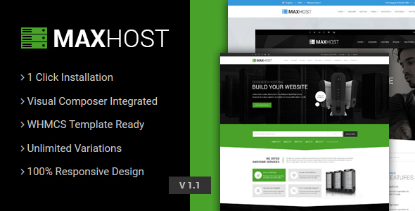 MaxHost Theme v7.6.3 Nulled