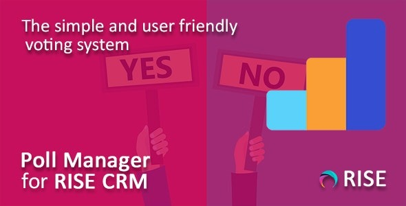 Poll Manager for RISE CRM v1.1 Nulled