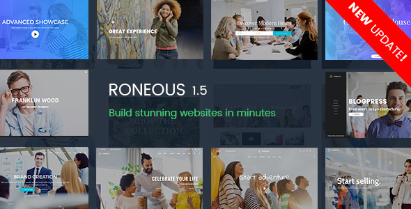 Roneous Theme v1.8.10 Nulled