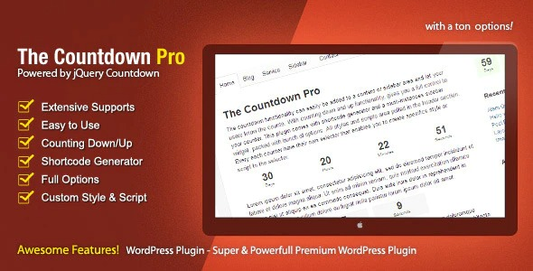 The Countdown Pro v2.6 Nulled