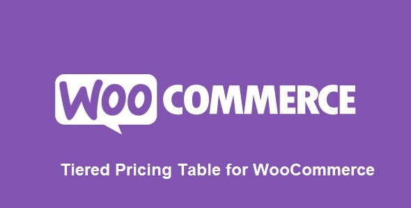 Tiered Pricing Table for WooCommerce v4.2.1 Nulled